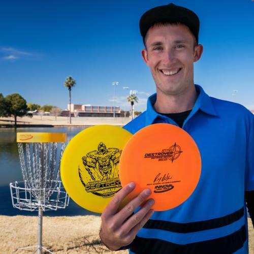 """Innova Disc Golf DESTROYER STAR """"SOCKIBOT"""" 165g-169g Distance Driver"""