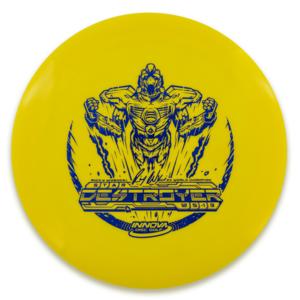 "Innova Disc Golf DESTROYER STAR ""SOCKIBOT"" 165g-169g"