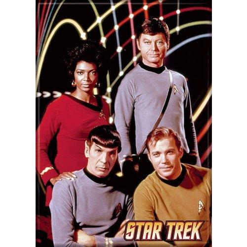 ATA-BOY MAGNET: STAR TREK FOUR STARS