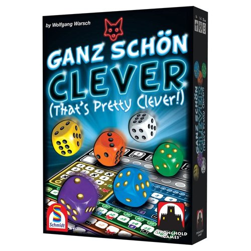 Stronghold Games GANZ SCHON CLEVER (THAT'S PRETTY CLEVER!)
