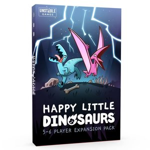 TEETURTLE HAPPY LITTLE DINOSAURS: 5-6 PLAYER EXPANSION