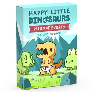 TEETURTLE HAPPY LITTLE DINOSAURS: PERILS OF PUBERTY