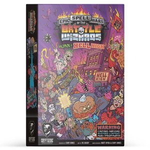 Cryptozoic Entertainment EPIC SPELL WARS OF THE BATTLE WIZARDS 5: HIJINX AT HELL HIGH