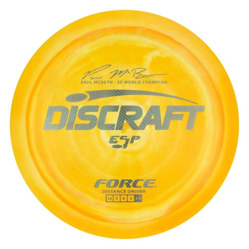 Discraft FORCE ESP PAUL MCBETH SIGNATURE 173g-174g Distance Driver