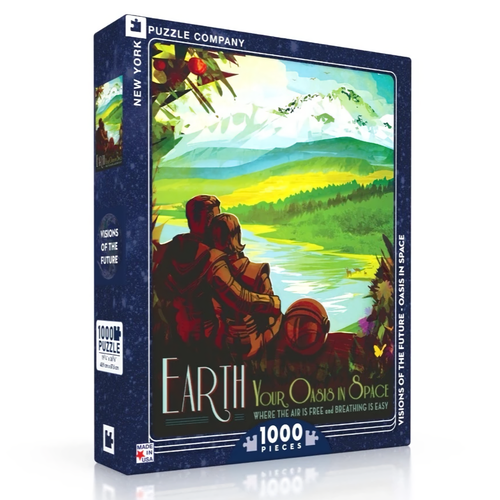 NEW YORK PUZZLE COMPANY NY1000 EARTH OASIS IN SPACE