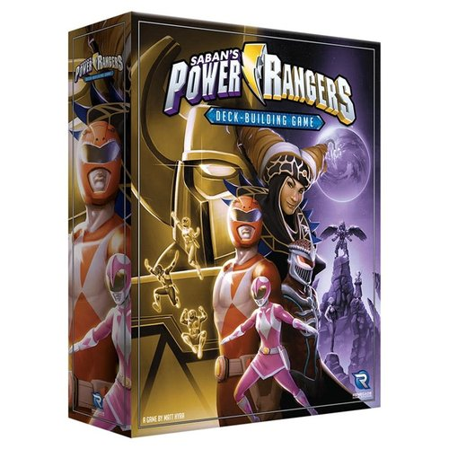 Renegade Games Studios POWER RANGERS: A DECK BUILDING GAME