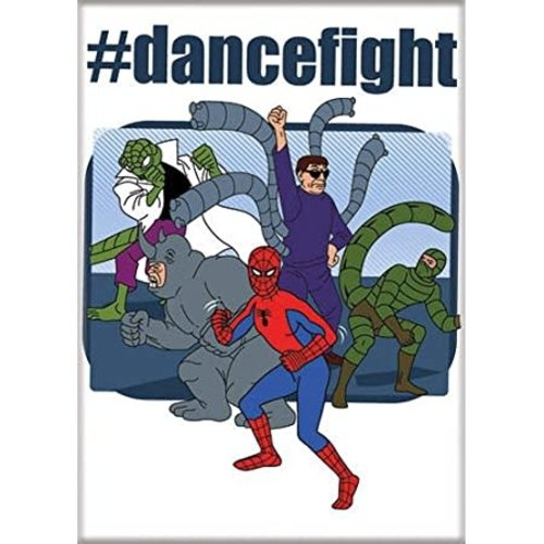 ATA-BOY MAGNET: MARVEL - SPIDEY DANCEFIGHT