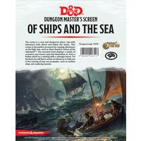 D&D 5E: OF SHIPS & THE SEA - DM SCREEN