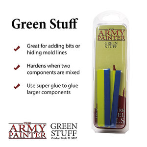 """The Army Painter TOOLS: KNEADITE GREEN STUFF 8"""""""