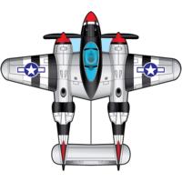 "KITE AIRWATCH P-38 55"""