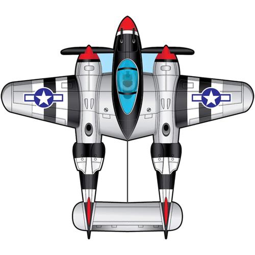 "X-Kites KITE AIRWATCH P-38 55"""