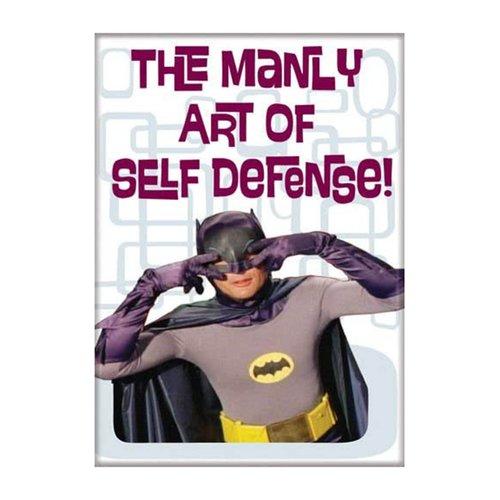 ATA-BOY MAGNET: BATMAN - MANLY ART