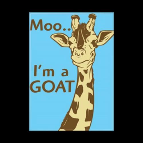 ATA-BOY MAGNET: MOO I'M A GOAT