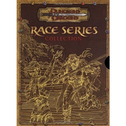 Wizards of the Coast D&D 3.5: RACE SERIES COLLECTION (Used)
