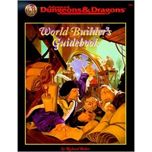 Wizards of the Coast AD&D 2e: WORLD BUILDER'S GUIDEBOOK (Used)