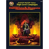 AD&D 2e: DUNGEON MASTER OPTION: HIGH LEVEL CAMPAIGNS (Used)