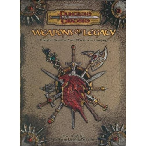 Wizards of the Coast D&D 3.5: WEAPONS OF LEGACY (Used)