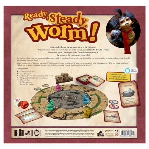 River Horse Games JIM HENSON'S: READY, STEADY, WORM!