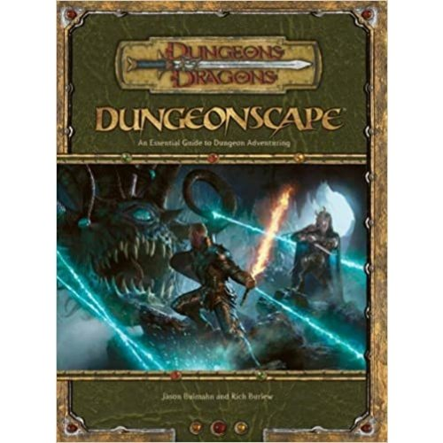 Wizards of the Coast D&D 3.5: DUNGEONSCAPE (Used)
