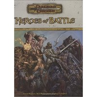 D&D 3.5: HEROES OF BATTLE (Used)