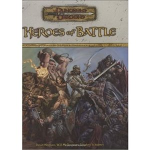 Wizards of the Coast D&D 3.5: HEROES OF BATTLE (Used)