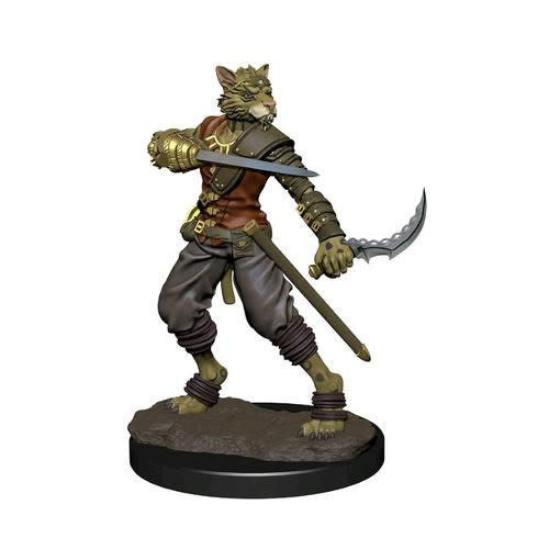 Wizkids MINIS: ICONS OF THE REALMS: TABAXI MALE ROGUE