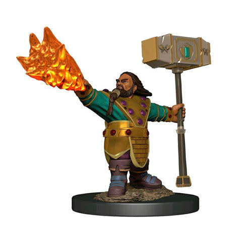 Wizkids MINIS: ICONS OF THE REALMS: DWARF MALE CLERIC