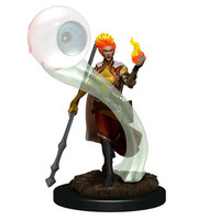 MINIS: ICONS OF THE REALMS: FIRE GENASI FEMALE WIZARD