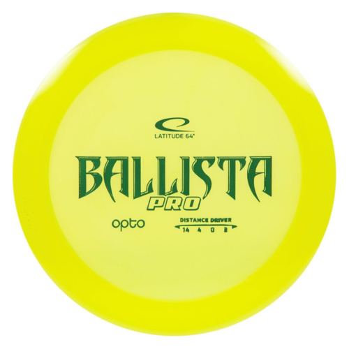 Latitude 64 BALLISTA OPTO PRO 160g-169g Distance Driver
