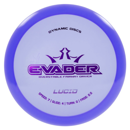 Dynamic Discs EVADER LUCID 160g-169g Fairway Driver