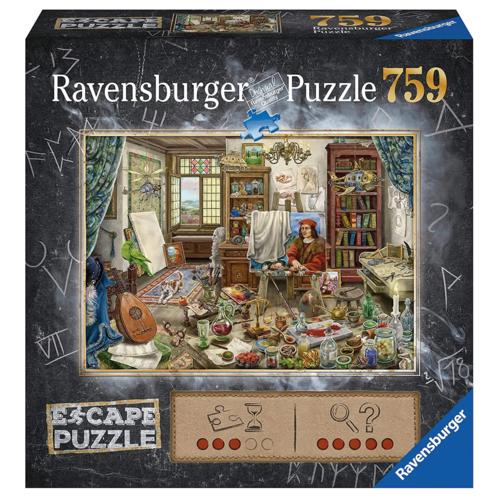 Ravensburger RV750(ESCAPE) THE ARTIST'S STUDIO