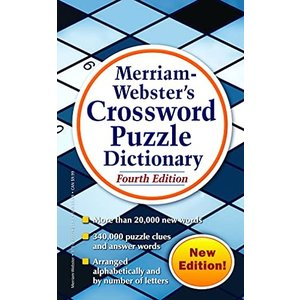 MERRIAM-WEBSTER CROSSWORD DICTIONARY (4th Ed)