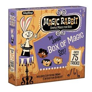SCHYLLING MAGIC RABBIT JUMBO BOX OF 75 TRICKS