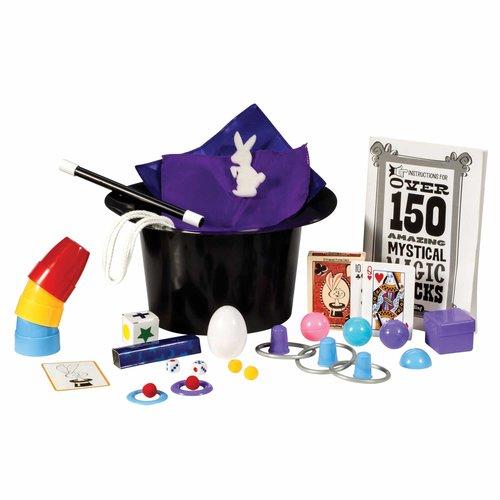 Schylling MAGIC RABBIT DELUXE HAT SET 150 TRICKS