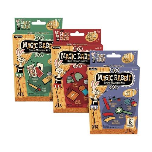 SCHYLLING MAGIC RABBIT 15 ASSORTED TRICKS
