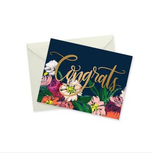 Doodles Ink Designs CARD - CONGRATS GOLD FOIL