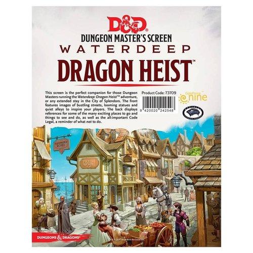 Gale Force Nine D&D 5E: WATERDEEP - DRAGON HEIST DM SCREEN