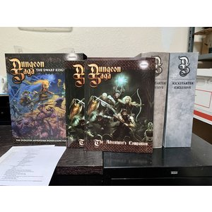 Mantic Entertainment LTD. DUNGEON SAGA: THE DWARF KING'S QUEST (w/DUNGEON MASTER KS EXPANSIONS & EXCLUSIVES)