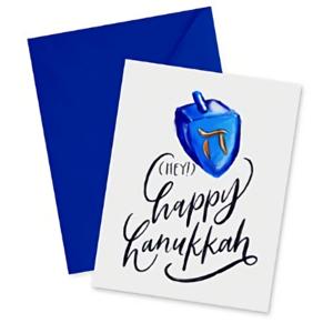 Doodles Ink Designs HOLIDAY CARD - HEY! HAPPY HANUKKAH