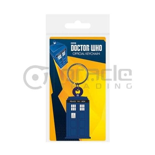 ORACLE TRADING INC DOCTOR WHO KEYCHAIN TARDIS