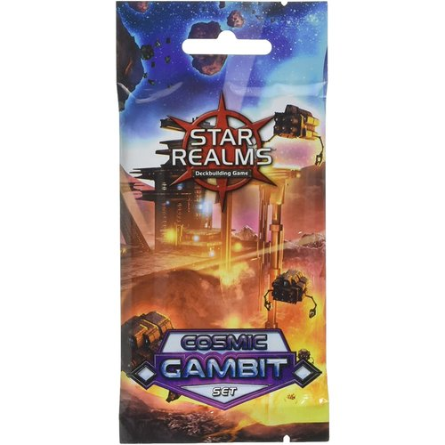 Wise Wizard Games STAR REALMS: COSMIC GAMBIT BOOSTER