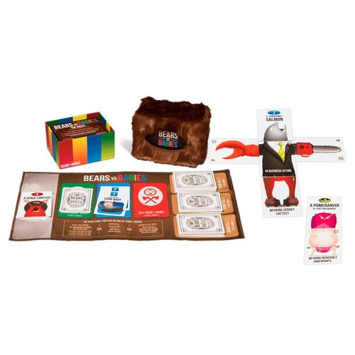 Exploding Kittens Inc. BEARS VS BABIES: A CARD GAME