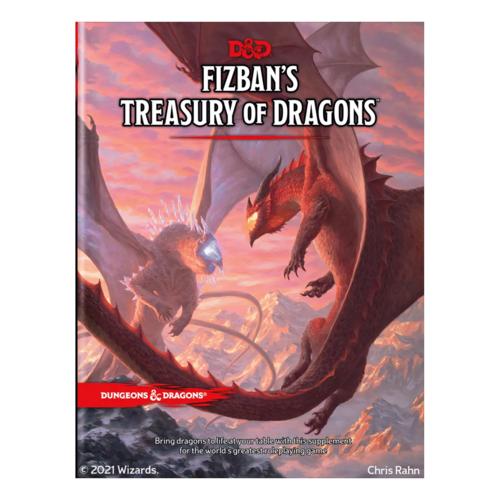 Wizards of the Coast D&D 5E: FIZBAN'S TREASURY OF DRAGONS (SE) [Pre-Order]