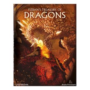 Wizards of the Coast D&D 5E: FIZBAN'S TREASURY OF DRAGONS (LE) [Pre-Order]