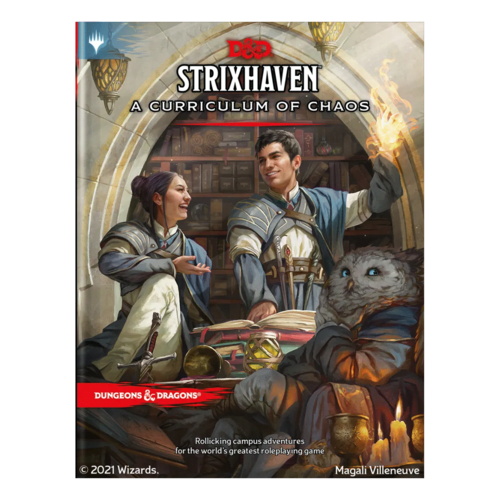 Wizards of the Coast D&D 5E: STRIXHAVEN - A CURRICULUM OF CHAOS (SE) [Pre-Order]