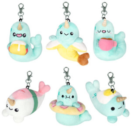 SQUISHABLE BLIND BOX: SPARKLES THE NARWHAL