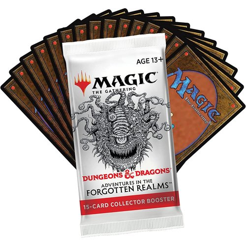 Wizards of the Coast MTG: ADVENTURES IN THE FORGOTTEN REALMS - COLLECTOR BOOSTER