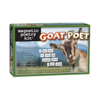MAGNETIC POETRY GOAT