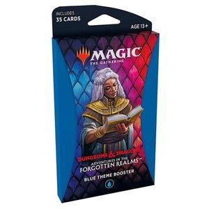 Wizards of the Coast MTG: ADVENTURES IN THE FORGOTTEN REALMS - THEME BOOSTER - BLUE