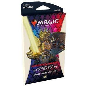 Wizards of the Coast MTG: ADVENTURES IN THE FORGOTTEN REALMS - THEME BOOSTER - WHITE